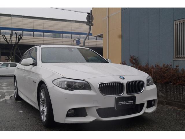 BMW 523iツーリング MスポーツパッケージSR 黒革