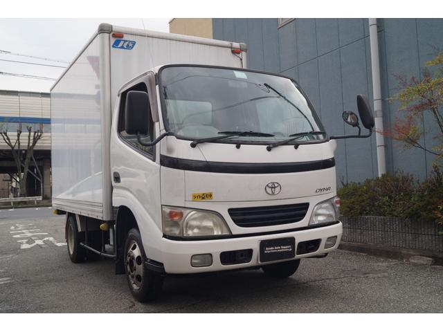 トヨタ 1.5トン アルミバン LPG車