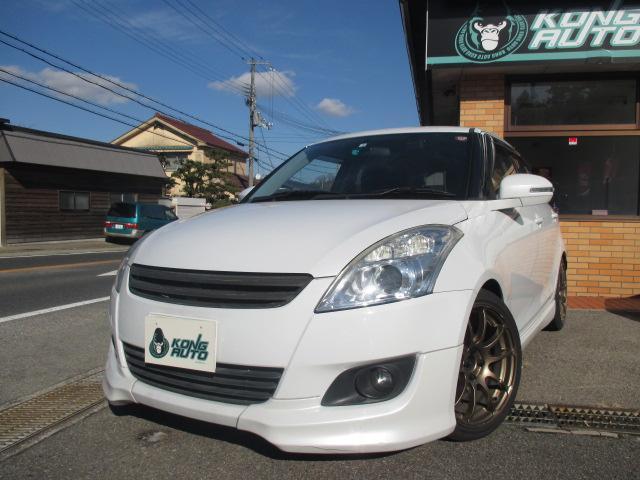 スズキ RS フルエアロ・HKS車高調・17AW・柿本マフラー・5速