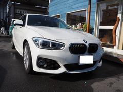 BMW118i Mスポーツ純正ナビカメラLEDライト
