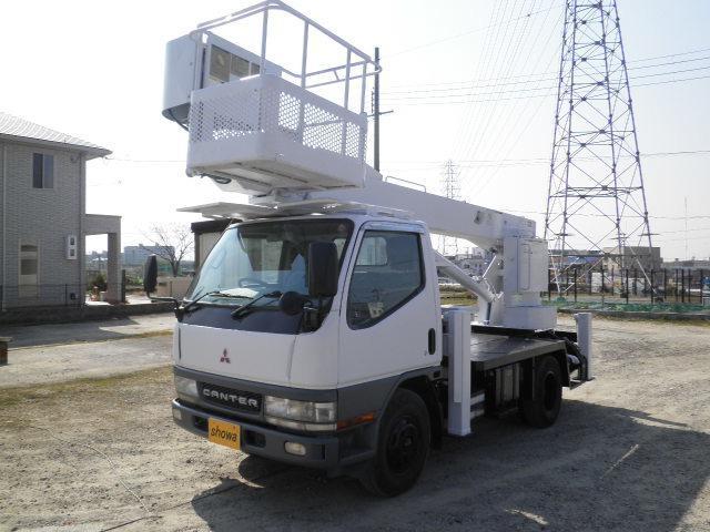 三菱ふそう アイチ製12M高床作業車