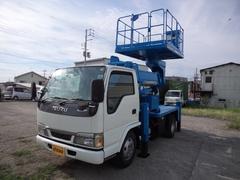 エルフトラック10M旋回デッキ