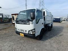エルフトラック極東製4.6立米パッカー車