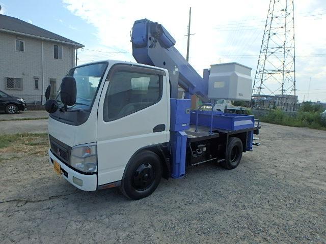 三菱ふそう タダノ製12m高所作業車AT121ターボ付
