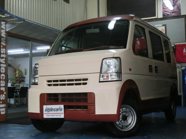 スズキ JP ツートン シートカバー CDデッキ 車検2年