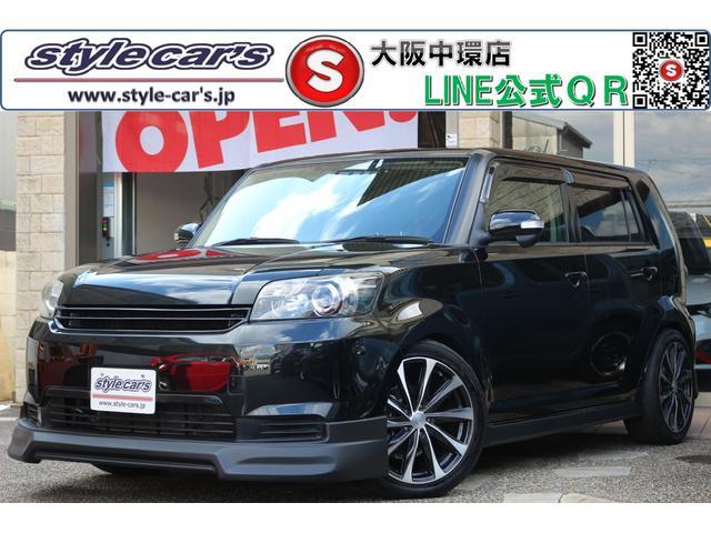トヨタ 1.5G 18インチAW 新品フルエアロ 新品ローダウン SDナビ フルセグ ETC HID スマートキー