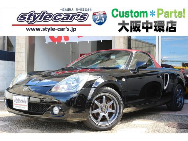 トヨタ Vエディションファイナルバージョン 赤革シート 6速MT MOMOステア 15AW SDナビフルセグ Bluetooth