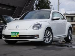 VW ザ・ビートルデザインレザーパッケージ サンルーフ 黒革 HDDナビ
