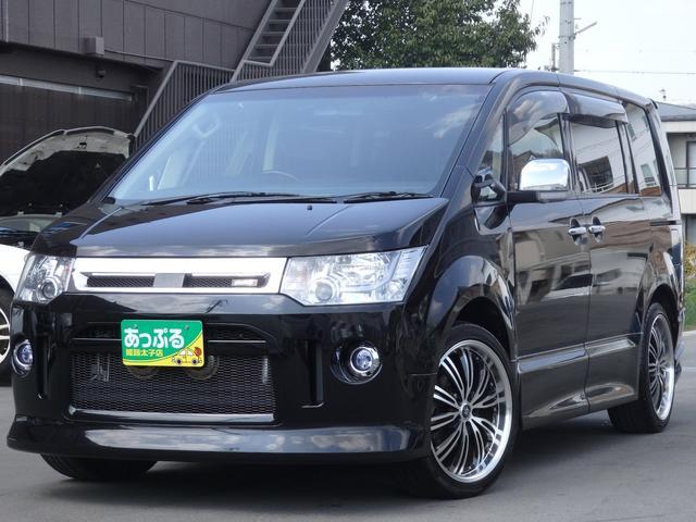 三菱 ローデストGパワーPKG4WD 9型ナビ&10.2型後席TV