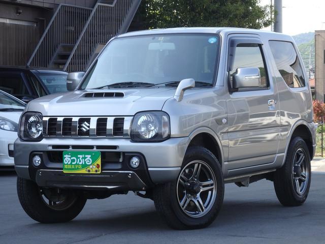 スズキ ランドベンチャー 4WD ターボ車 レザーシート 純正ナビ