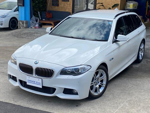 BMW 523iツーリング Mスポーツパッケージ /ユーザー様買取車/フルセグHDDナビ/ETC/バックカメラ/HIDヘッドライト/検査R04年11月迄
