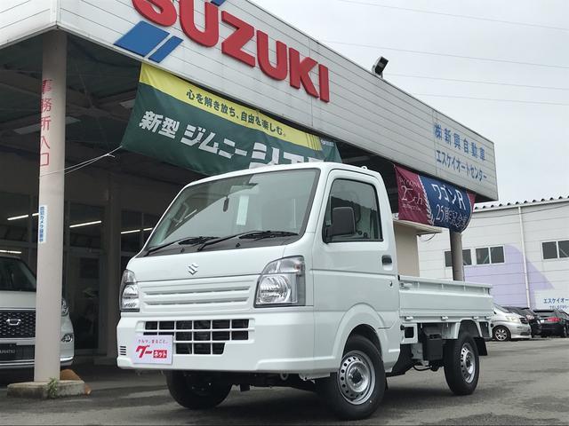 スズキ 4WD AC MT 軽トラック エアバック ホワイト