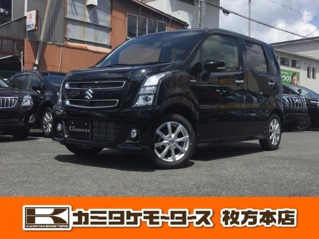 スズキ ハイブリッドX 軽自動車・キーフリー・オートエアコン