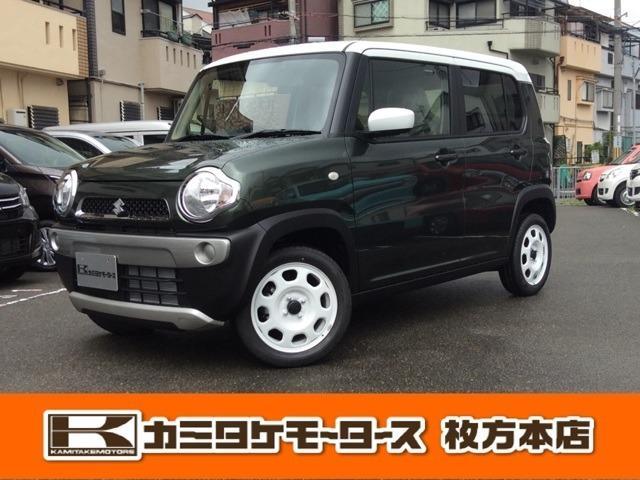 スズキ Gターボ キーフリー・シートヒーター・オートAC 軽自動車