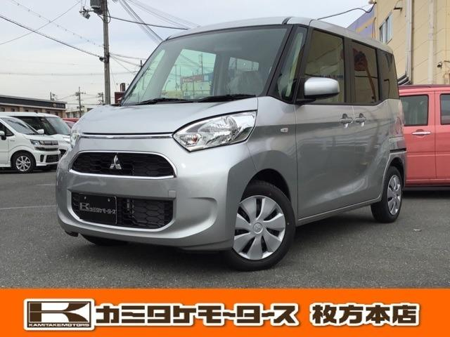 三菱 M e-アシスト 軽自動車・キーレス・運転席シートヒーター
