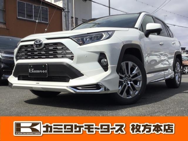 トヨタ RAV4 G Zパッケージ 4WD SUV・SR・モデリスタエアロ