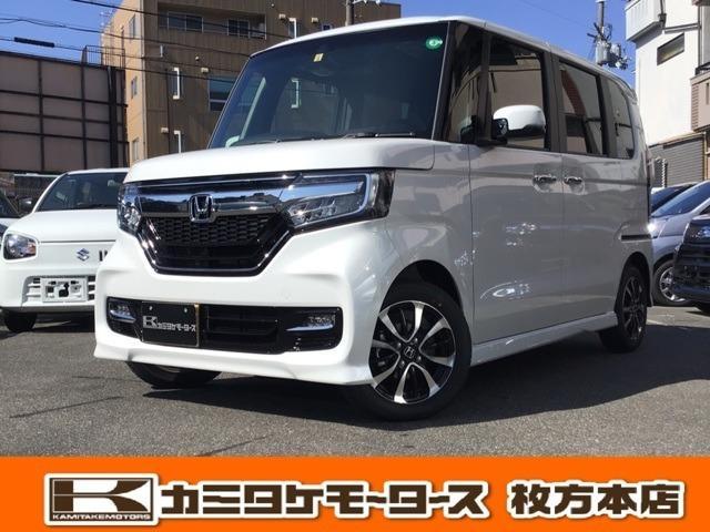 ホンダ N-BOXカスタム G・Lホンダセンシング 軽自動車・キーフリー両側電動スライド