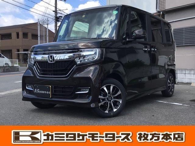 ホンダ N-BOXカスタム G・Lホンダセンシング 軽自動車・キーフリー・電動スライド