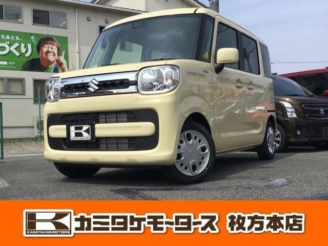 スズキ ハイブリッドX 軽自動車・キーフリー・両側電動スライド