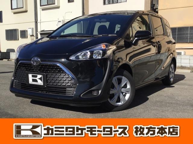 トヨタ シエンタ X 1.5 X 7人乗り・キーフリー・バックカメラ