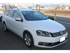 VW パサートヴァリアントTSIハイライン地デジナビ 黒革シート ソナー付