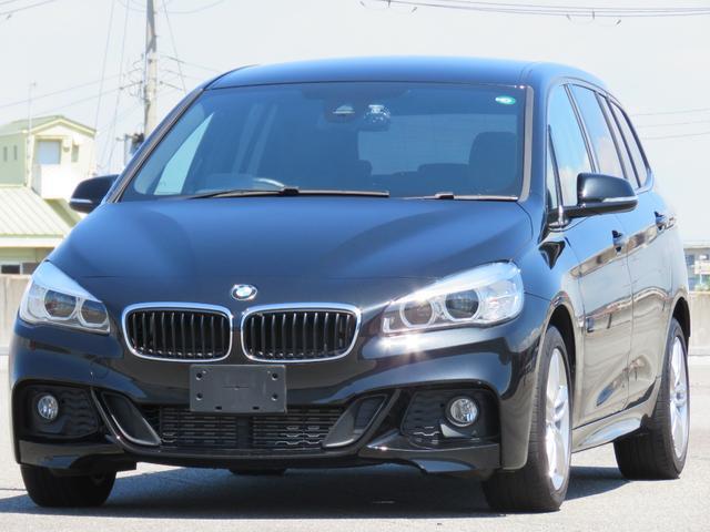 BMW 2シリーズ 218dグランツアラー Mスポーツ クルーズコントロール ヘッドアップディスプレイ ドラレコ