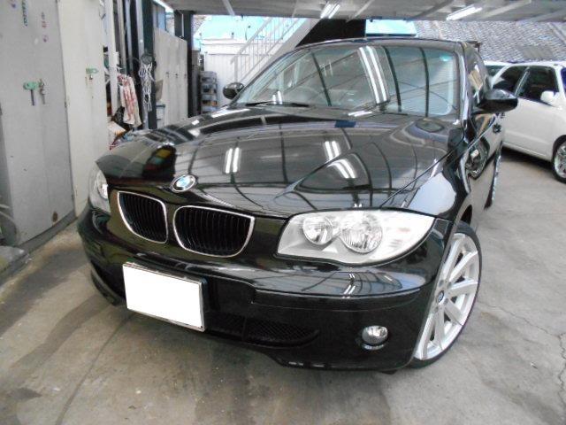 BMW 118i キーレス ポータブルナビ ETC