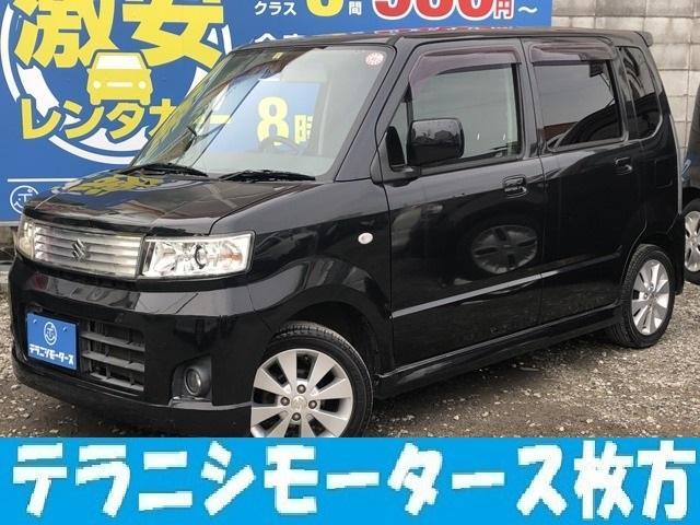 スズキ X 軽自動車 HDDナビ ワンセグTV 純正ホイール