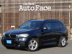 BMW X5xDrive 35i Mスポーツ茶革シート法人ワンオーナー