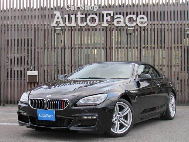 BMW 640iカブリオレ 純正ナビフルセグ本革 LDW クルコン