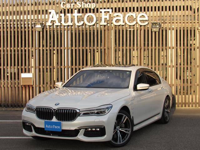 BMW 7シリーズ 740eアイパフォーマンス Mスポーツ サンルーフ 純正ナビTV Bluetooth対応 全方位カメラ 黒革シート オートクルコン スマートキー