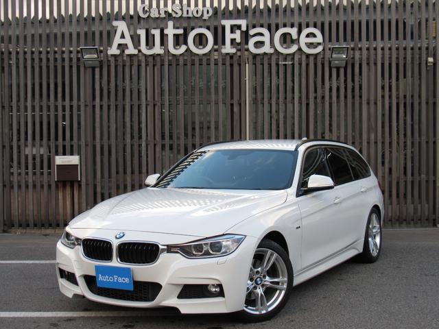BMW 3シリーズ 320dブルーパフォーマンス ツーリング Mスポーツ 純正HDDナビ フルセグTV パワーシート Bカメラ ソナー スマートキー ETC  パドルシフト