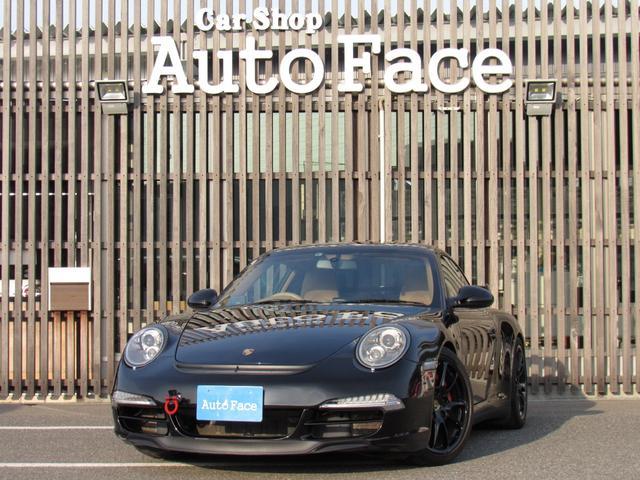 ポルシェ 911 911カレラ4S 右ハンドル 後期 PDK スポーツクロノ H&Rローダウン パワークラフト可変マフラー 991フェイス 純正ナビTV Bカメラ コーティング施工済み