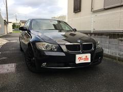BMW320i 黒革 プッシュスタート ETC ナビ 純正アルミ