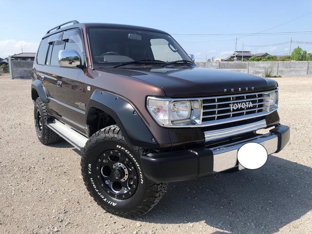 トヨタ TX 4WD プラド78仕様 社外SDナビ 地デジTV