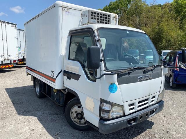 いすゞ エルフトラック  冷凍冷蔵車 三菱設定温度-25°C バックモニター ETC 5速 エンジン型式4HL1