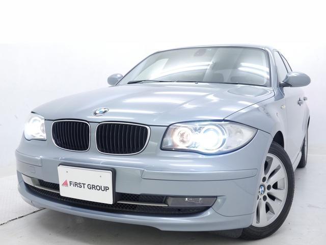 BMW 116i 後期純正革シート SDナビTV ディーラーメンテ車