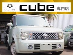 キューブ14S 希少マットグレー/ナビ/ETC/ベンチシート/オートライト/電動格納ミラー/シートリフター