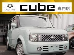 キューブ15M 純正バックカメラ/オートライト/ナビ/ETC!