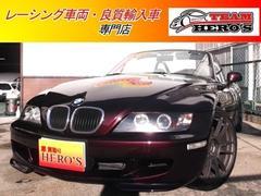 BMW Z3ロードスターRAYS18アルミ マフラー
