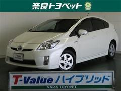 プリウスS  T−ValueHV認定車 保証付 ワンオーナー ナビ
