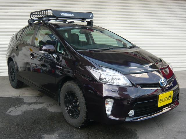 トヨタ プリウス Gツーリングセレクション1オーナーリフトUPオフロードタイヤ