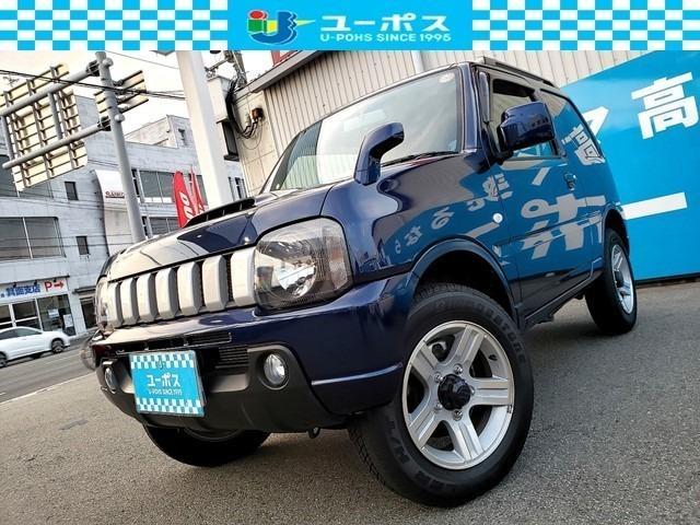 スズキ XC 4WD 背面タイヤ/ルーフレール/禁煙車