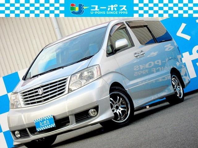 トヨタ アルファードV MS 4WD フルセグTV バックカメラ コーナーセンサー ETC HIDヘッドライト