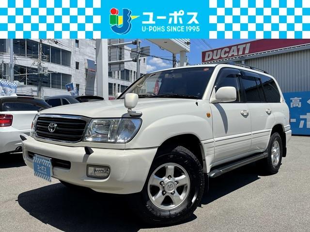 トヨタ ランドクルーザー100 VXリミテッド Gセレクション サンルーフ 革シート ETC クルコン