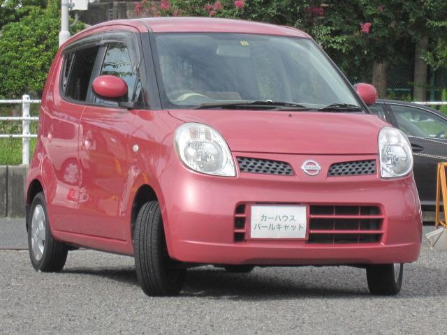 日産 モコ E オートエアコン 車検令和4年9月