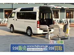 レジアスエースバン福祉車輌 ウェルキャブ リアリフトBタイプ 車椅子2基