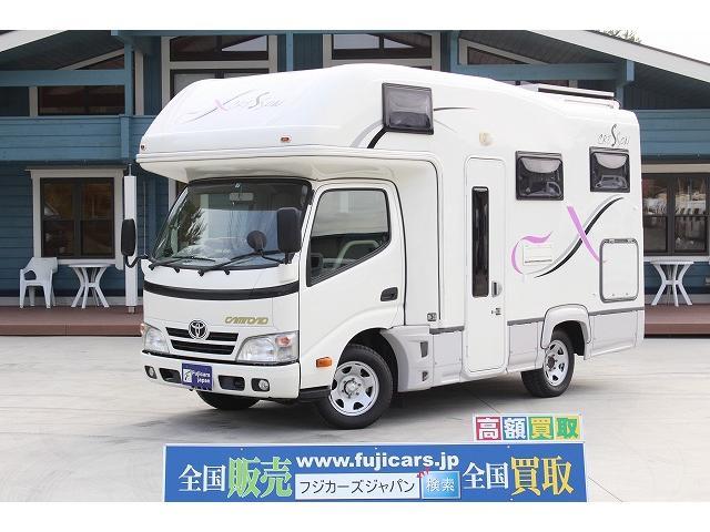 トヨタ ナッツRV クレソンX ソーラーパネル FFヒーター 冷蔵庫