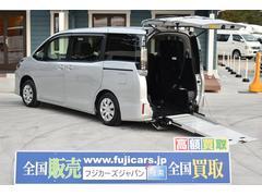 ヴォクシー福祉車両 スロープ 車椅子1基 後退防止 車いす電動固定
