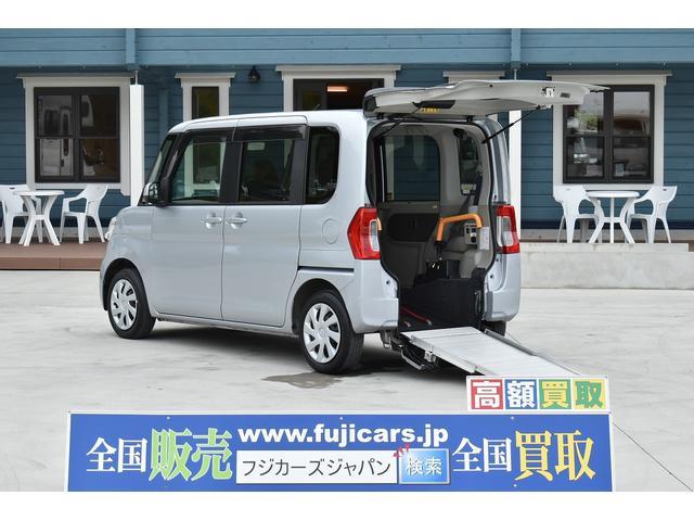 ダイハツ 福祉車両 スロープ 電動ウインチ スマートアシスト 純正ナビ